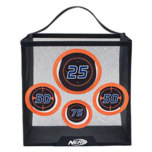 Nerf Elite tragbare Übungszielscheibe 11506  Zielscheibe aus Netz zum Auffangen der Nerf Darts mit Griff zum Transportieren, trainiere deine Treffsicherheit