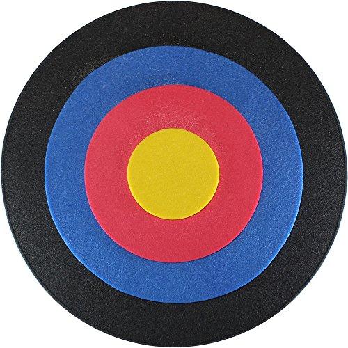 Promeus AG Zielscheibe Bogenschießen rund 60 cm mit integrierter Auflage / Bogen Bogensport