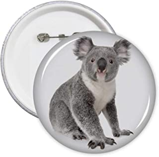 Lot de 5 badges en forme de koala avec oreilles - Art déco