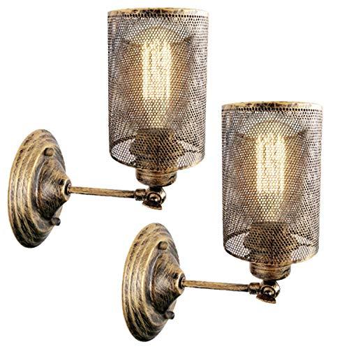 Vintage Wandlampe, E27 Industrie Retro...