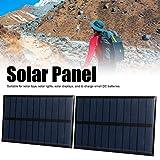 Panel solar, polisilicio 0.29 (a) 15 x 8,5 cm Celda epoxi solar...
