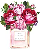 Mode Rosa Parfüm Lippenstift High Heels Poster Moderne