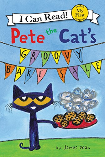 Pete the Cat's Groovy Bake Sale (My First I Can Read) (English Edition)