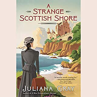 A Strange Scottish Shore audiobook cover art