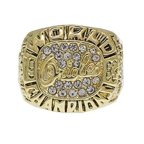 Fei Fei MLB 1983 Baltimore Orioles European and American retro men's accessories championship ring Stylish Simplicity Rings,Without box,11