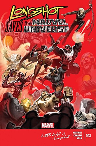 Longshot Saves The Marvel Universe #3 (of 4) (English Edition)