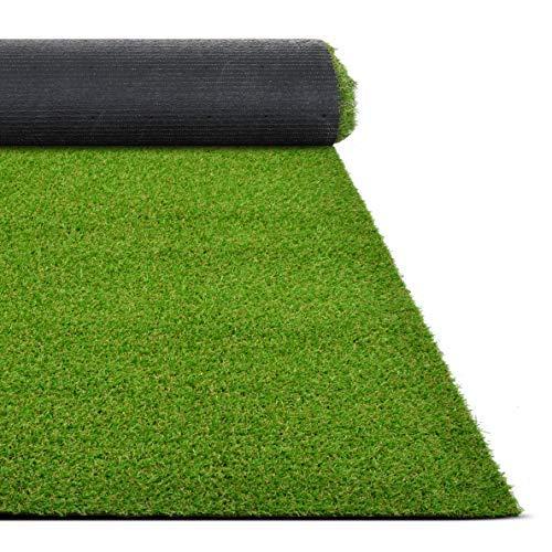 Floordirekt Kunstrasen Riviera | Höhe: 14 mm Rasenteppich Balcon Outdoor Teppich (50 x 50 cm)