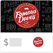 $50 Famous Dave's BBQ Gift Card