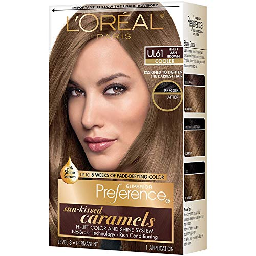 L'Oreal Superior Preference UL61 Ultra Light Ash Brown (Cooler) 1 Each (Pack of 3)