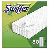 Swiffer Lingettes Sèches Pour Le Balai, Attrape & Retient La Poussière, 80 Lingettes