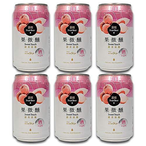 台湾ビール ライチ 缶 ビール 330ml (6本セット)