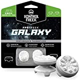 KontrolFreek FPS Freek Galaxy Blanco para mando de Xbox One | Performance Thumbsticks | 1 de Gran Altura, 1 Medio Altura | Blanco