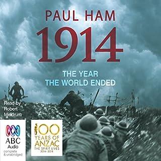 1914 audiobook cover art