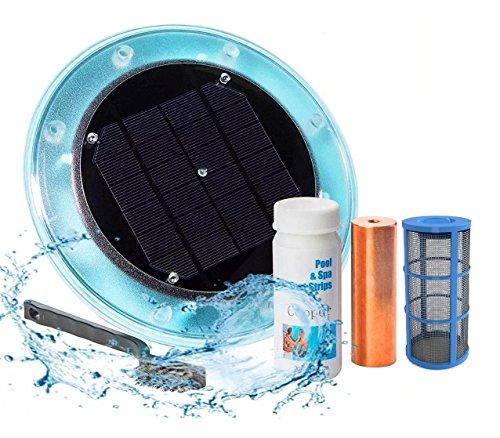 Ioniseur solaire original pour piscine