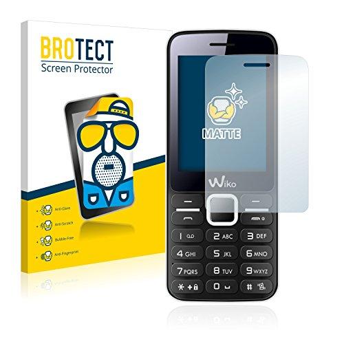 BROTECT 2X Entspiegelungs-Schutzfolie kompatibel mit Wiko Riff Bildschirmschutz-Folie Matt, Anti-Reflex, Anti-Fingerprint