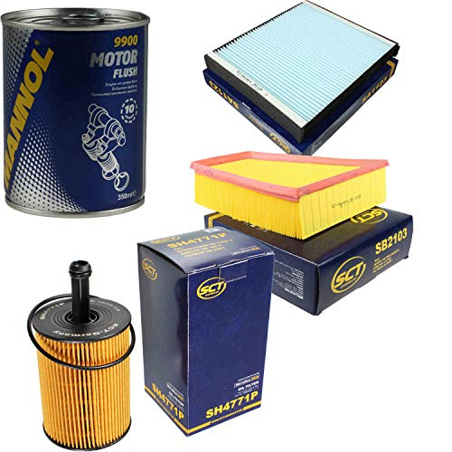 Original SCT Inspektionspaket Filter Set + Motor Flush Motorspülung 11585979