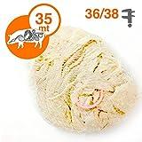 Budello Naturale Di Suino calibro 36/38 da 35 metri a mazzo per Salsiccia equivalente a 22/25 kg circa di prodotto (1)