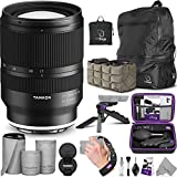 Tamron 17-28mm f/2.8 Di III RXD Lens for Sony E with Advanced Photo & Travel Bundle