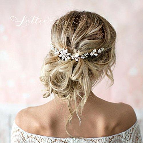 Jovono Braut-Haarschmuck, Haarschmuck für Damen und Mädchen