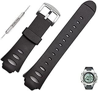 Soft Luxury Rubber Replacement Watch Band Sport Strap for SUUNTO Observer SR X6HRM
