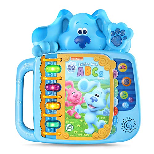 LeapFrog Blue's Clues and You! Skidoo Into ABCs Book w/ Lights & Sounds $11 + Free Shipping w/ Amazon Prime or Orders $25+