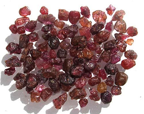 Rubin Kristalle, 50 Ct. Rohsteine, Rohedelsteine, Edelsteine aus Madagaskar