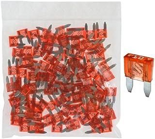100 Flachstecksicherung Mini Sicherung 10A / 32V / rot