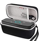 BOVKE Case for Doss SoundBox Touch Wireless Bluetooth V4.0 Portable Speaker with HD Sound and Bass Protective Hard EVA Travel Shockproof Carrying Case Cover Storage Pouch Bag, Black