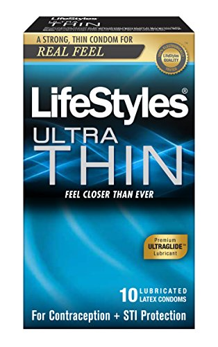LifeStyles Ultra Thin Condom, 10 Count