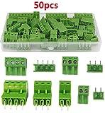 PCB - Terminal de conexión recto para PCB, placa de circuito impreso, 2 pares de pin, 3 pines, 10 pares, 4 pines y 5 pares