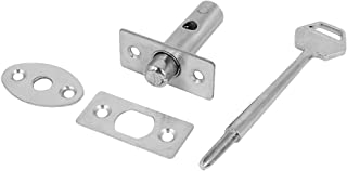 uxcell Fire Door Stainless Steel Hidden Manager Tubewell Key Mortise Lock