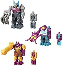 Transformer. Generations Prime Masters Wave 3 Set With Quintus Prime with Bludgeon Armor, Megatronus with Bomb Burst Armor, And Solus Prime with Octopunch Armor