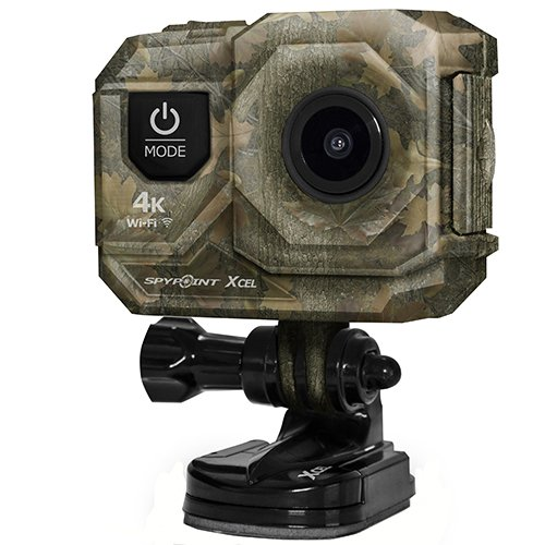 SPYPOINT XCEL 4K Ultra HD WiFi Action Camera