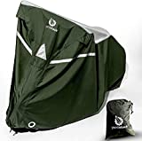 YardStash Bike Covers Outdoor Storage Waterproof - Safe, Reflective Outdoor Bicycle Cover Multiple Bikes in Driveway, Garage or Shed - Mountain Bike Cover, Beach Cruiser Waterproof Outdoor Storage