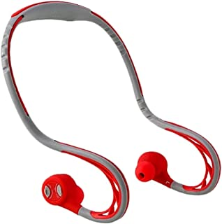 Sport Gym Wireless Earphones For Running,In Ear Stereo Headphones Sweat-Proof Earbuds High Bass Speaker for Android Mobile,REMAX (RED)