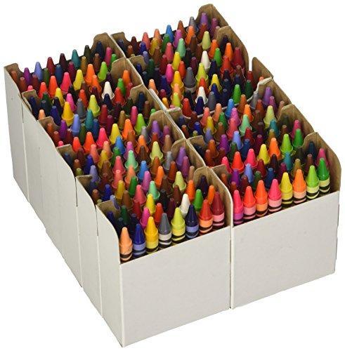 CRAYOLA - 02-0244-0-000 - Education - Classpack de 288 Crayons de Cire