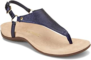 Vionic Women's Rest Kirra Backstrap Sandal - Ladies Sandals with Concealed Orthotic Arch Support