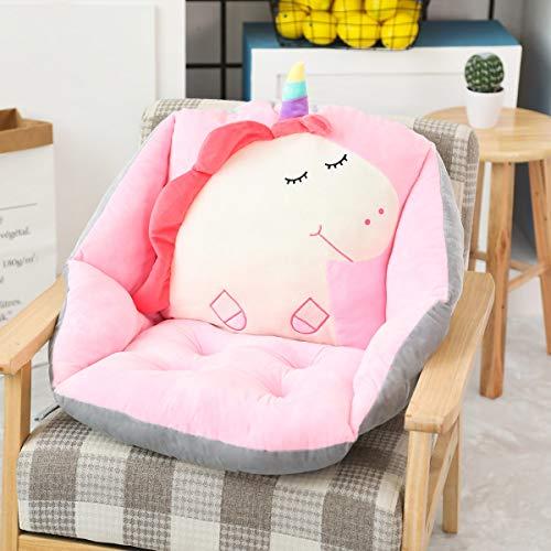 NMJHG 60 * 40 * 40cm Indoor Plush Sofa Stuffed Chair Floor Seat Cushion Pillows Unicorn Strawberry Hamsters for Grownups Children PinkUnicorn