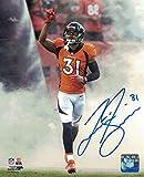 Justin Simmons Autographed/Signed Denver Broncos 8x10 Photo