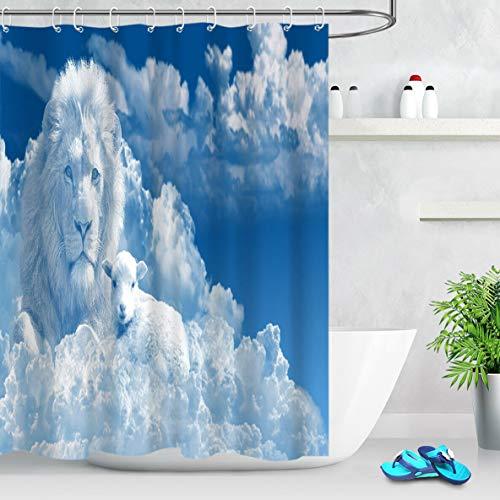 cortinas blancas gancho