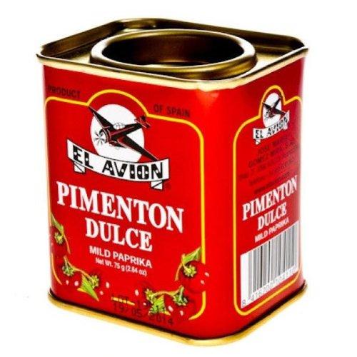 Pimenton Dulce - Süßes Paprikapulver (Dose 75g)