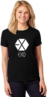 Camiseta Feminina T-Shirt Kpop Exo Baby Look ER_061