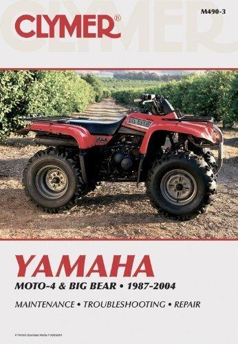 Yamaha Moto-4 & Big Bear 1987-2004 (Clymer Motorcycle Repair) Revised edition by Penton Staff (2000) Paperback