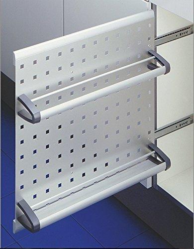 Preisvergleich Produktbild Hailo Vario Küchen-Abfalleimer,  Grau,  One Size