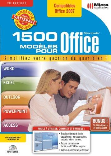 1500 modèles pour Office