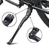 ANWONE Réglable Bike Side,Alliage d'aluminium réglable MTB Bike Stand avec Pied en...