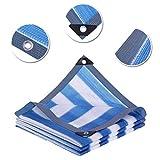 Dall Malla De Sombra 85% Paño De Sombra Bloqueador Solar Resistente A Los Rayos UV Planta De Invernadero Shade Net Borde Encintado con Ojales (Color : T1, Size : 5×6m)