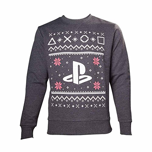Import Europe – Pull Noël Playstation, Taille L