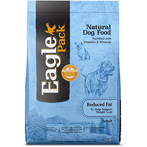 Eagle Pack Natural Dry Reduced Fat Dog Food, Pork & Chicken, 30-Pound Bag