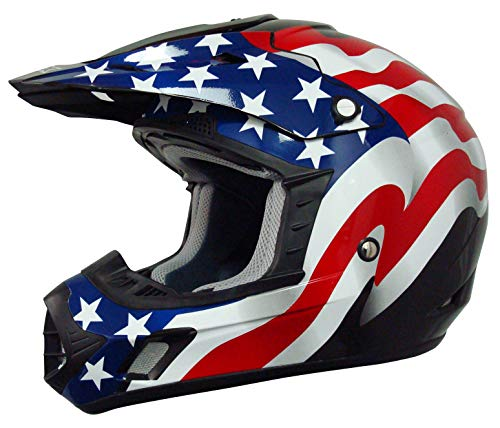 Casco De Moto Bandera marca AFX